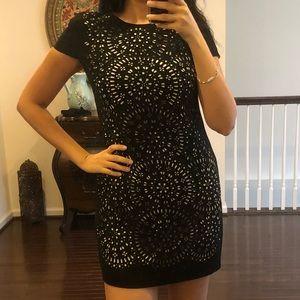Cynthia Steffe Black Mini Dress